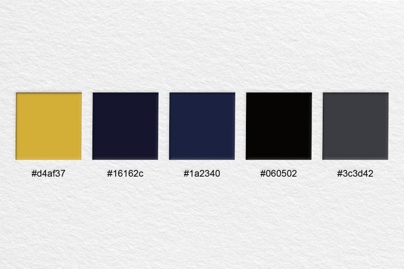 Barvna shema za podobo Virum.