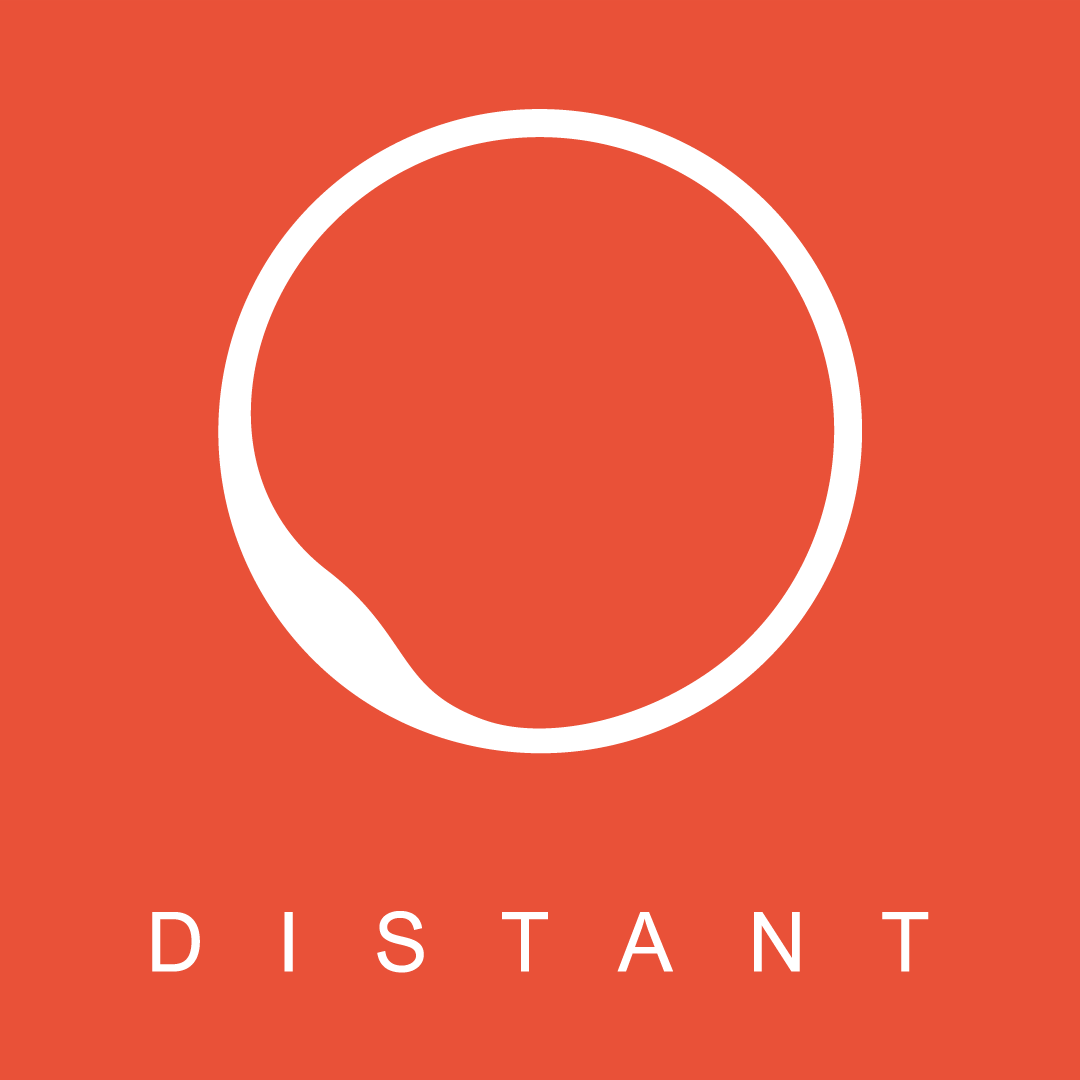 Distant logotip - grafični studio Maribor