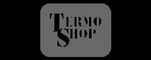 Oblikovanje reklamnih pasic podjetja Termo Shop